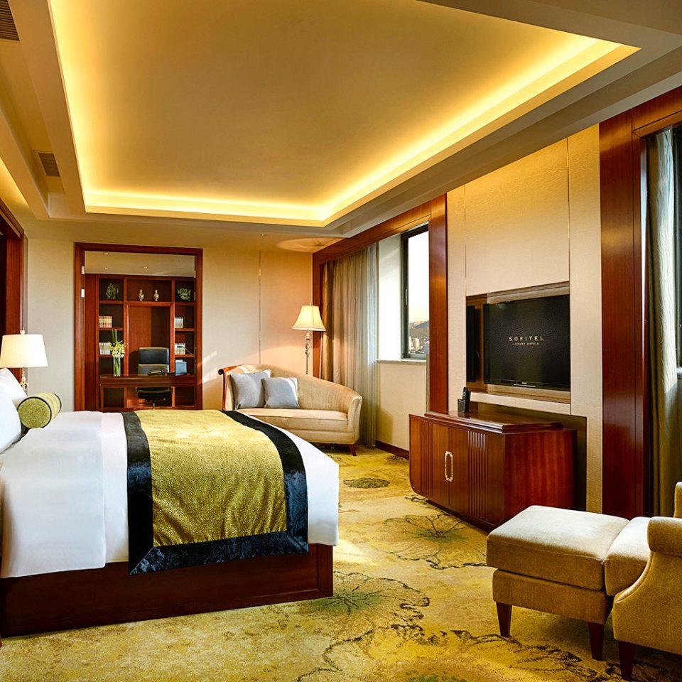 Bedroom City Classic Resort Scenic views sofa property Suite living room home condominium flat lamp