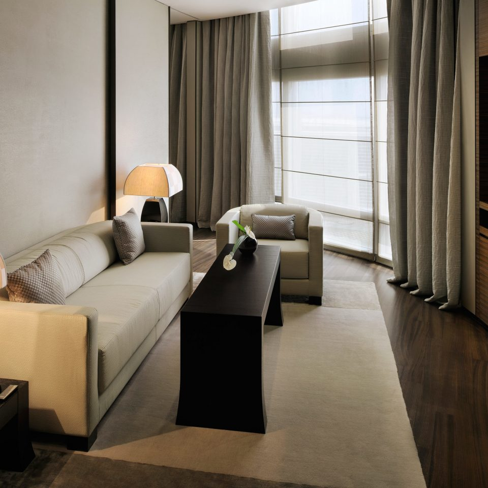 Bedroom City Dubai Hotels Luxury Travel Middle East Modern sofa property living room home Suite condominium loft