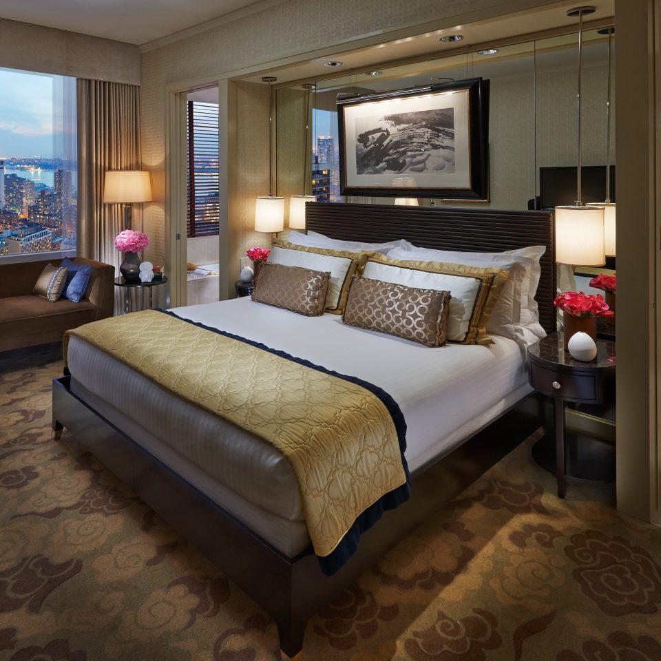 Luxury Apartment Bedroom: Mandarin Oriental, New York (New York City, NY)