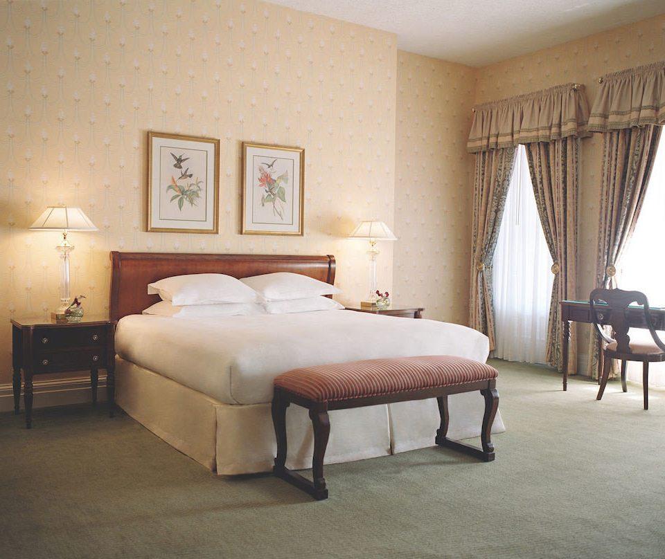 Bedroom City Elegant property Suite hardwood bed frame living room home studio couch bed sheet cottage containing