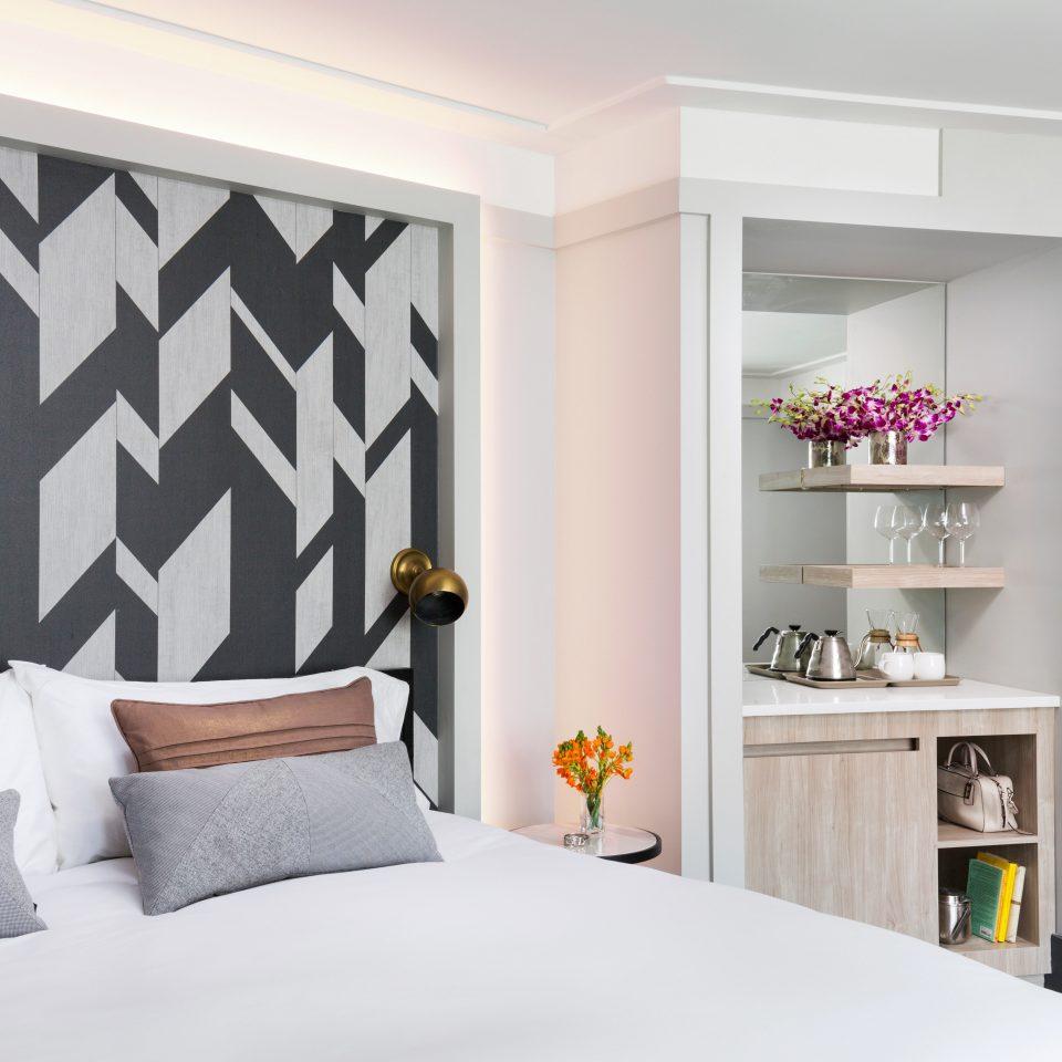 Bedroom City Hip Hotels Modern white living room