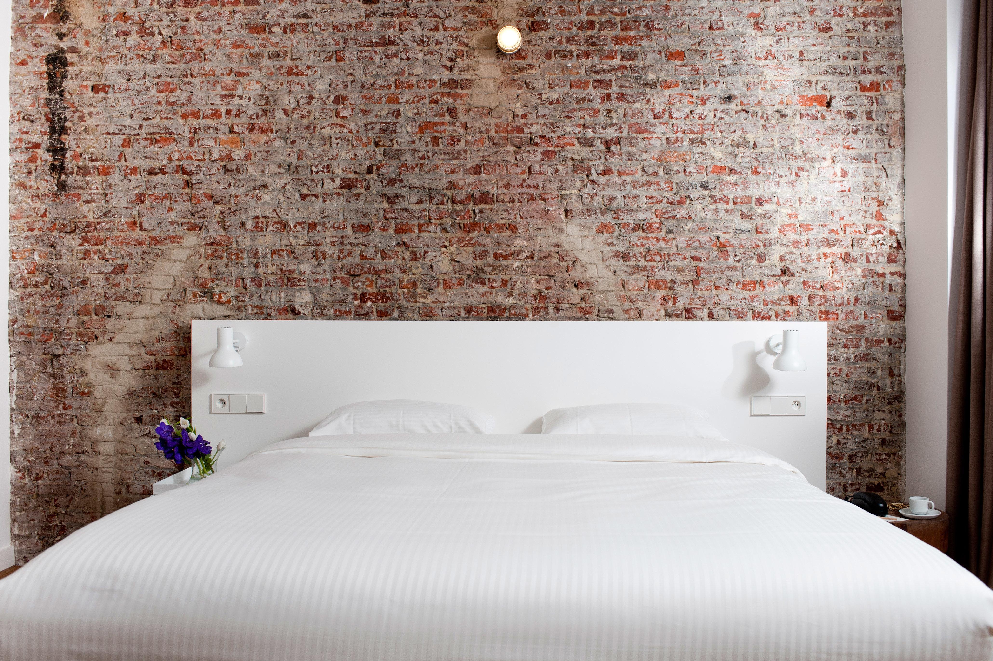 Bedroom City Hip Modern white bed sheet textile wallpaper cottage