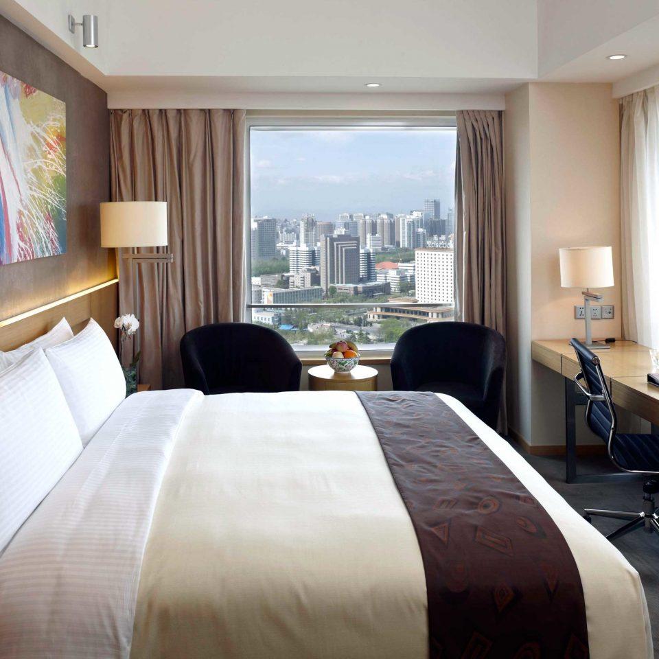 Bedroom City Hip Modern Scenic views Suite sofa property condominium Resort pillow living room cottage