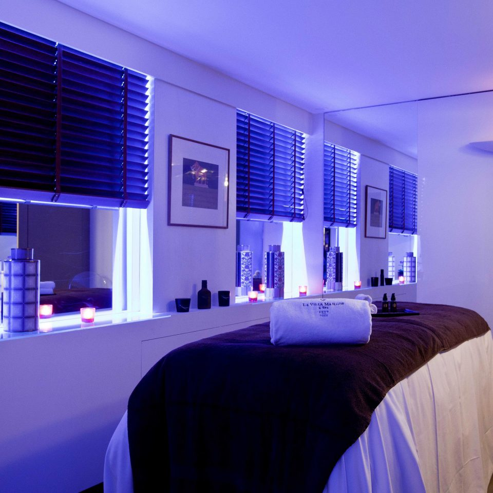 City Hip Modern Spa Wellness Bedroom