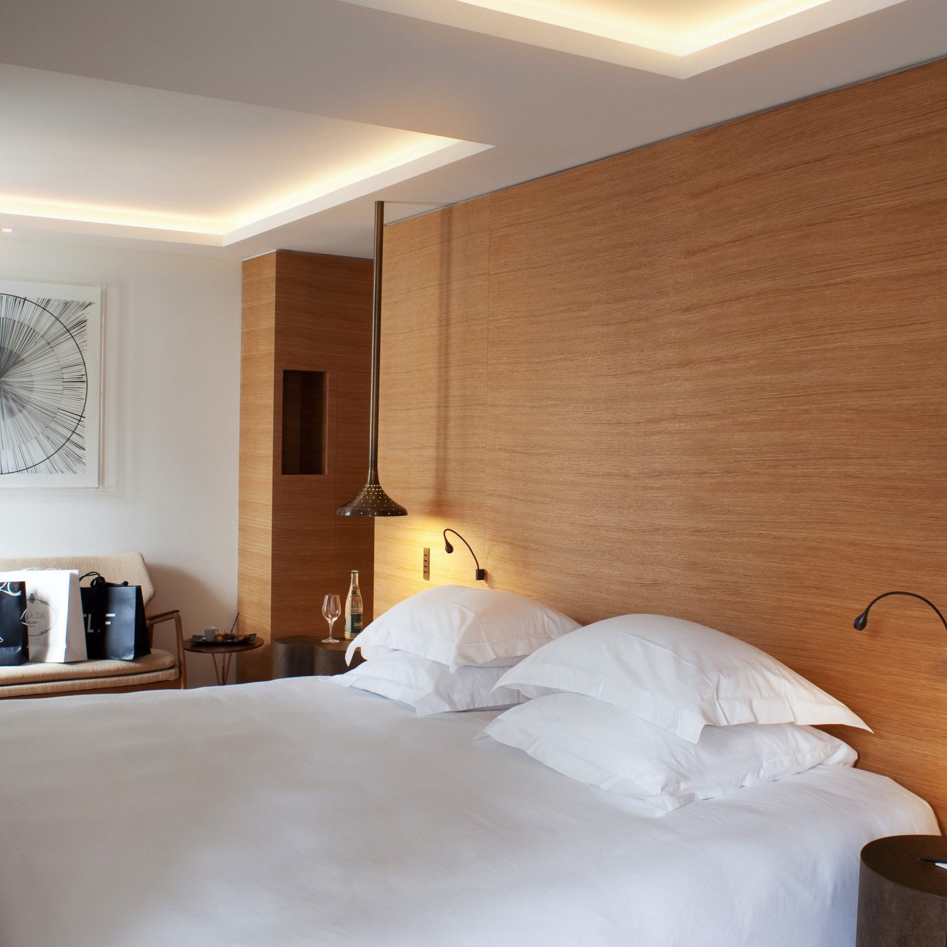 Bedroom City Hip Modern property Suite scene cottage