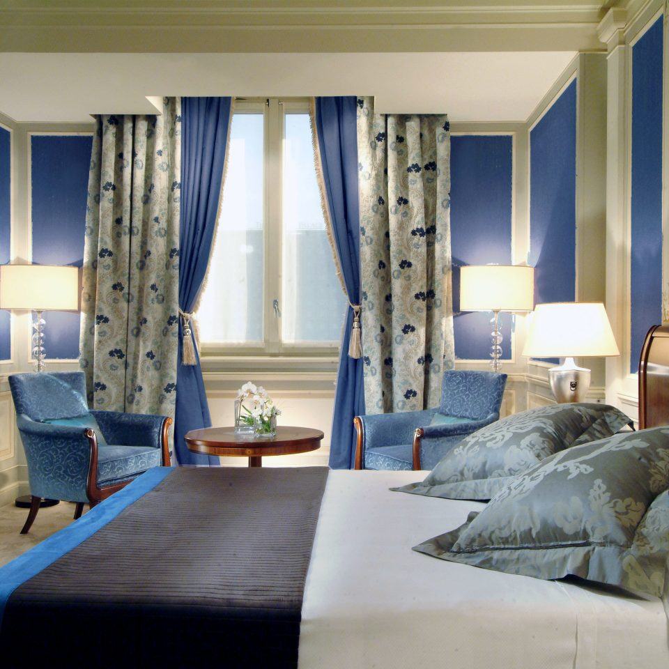 Bedroom City Historic Luxury Romance Romantic Suite sofa blue property living room home pillow cottage textile lamp
