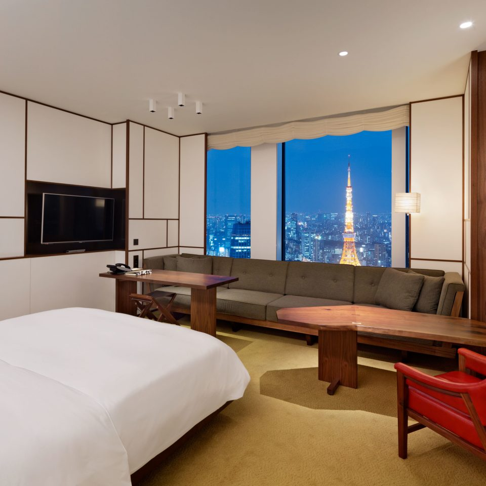 Bedroom City Hotels Japan Luxury Modern Scenic views Suite Tokyo property living room cottage condominium flat
