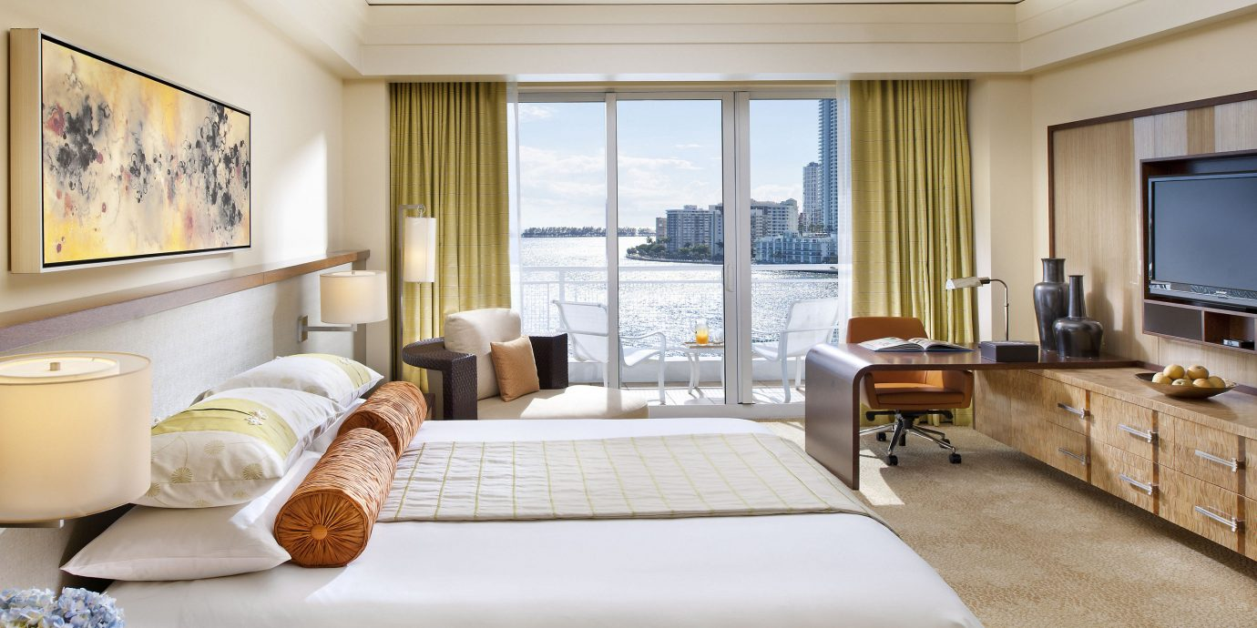 City Hotels Luxury Miami Miami Beach sofa Suite Bedroom living room penthouse apartment interior designer nice flat