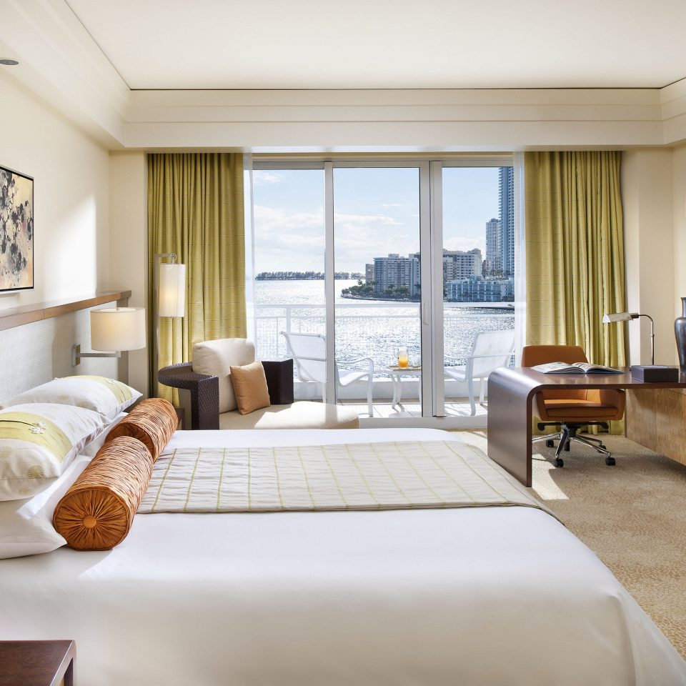 City Hotels Luxury Miami Miami Beach sofa Suite Bedroom living room penthouse apartment interior designer nice flat