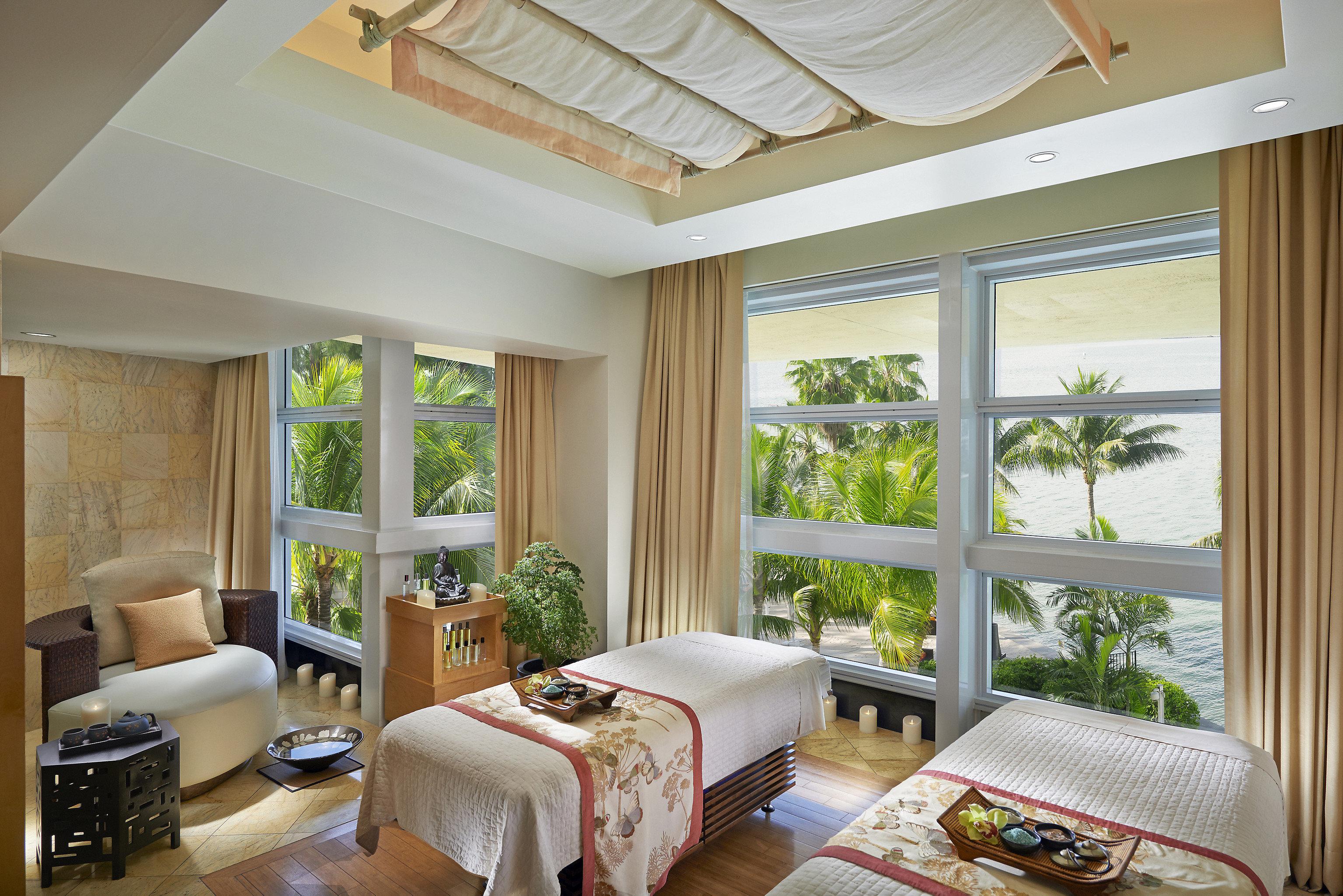 City Hotels Luxury Miami Miami Beach Bedroom window treatment home daylighting living room interior designer house Suite