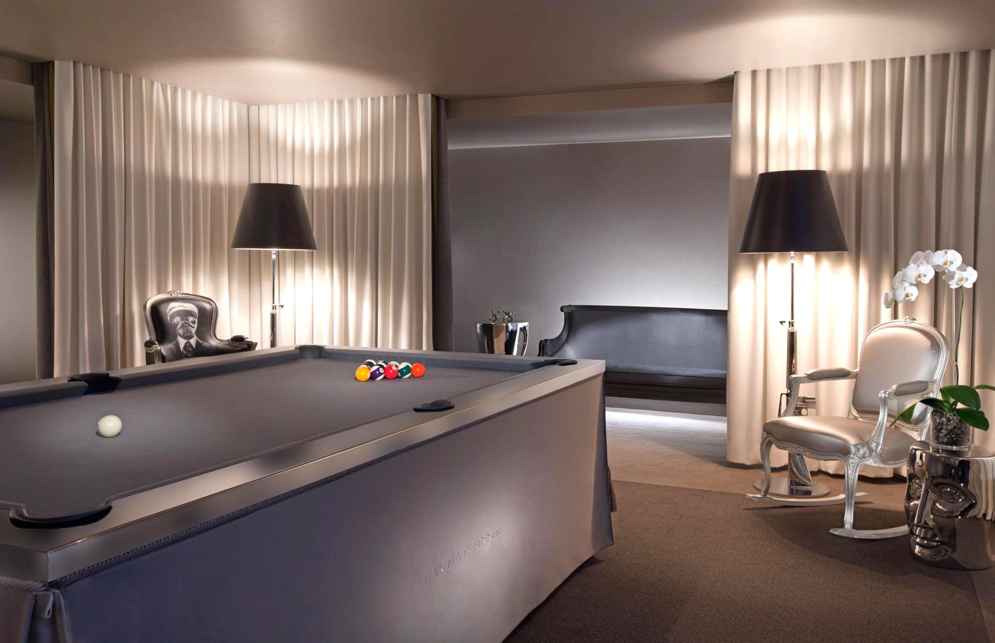 City Lounge Modern Play Sport property recreation room Suite billiard room lighting Bedroom