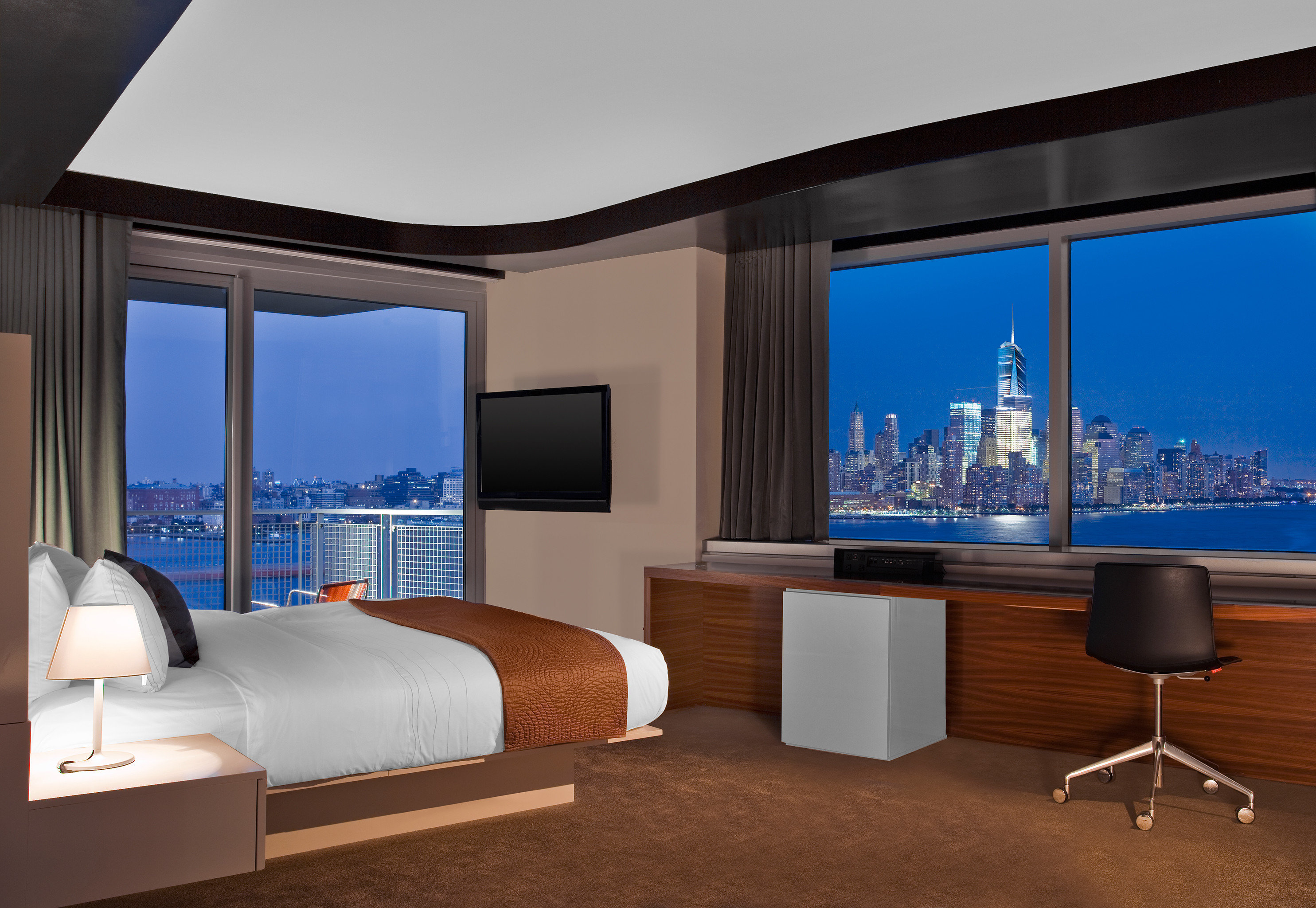 Bedroom City Luxury Modern Scenic Views Property Living Room Home Suite Overlooking Flat