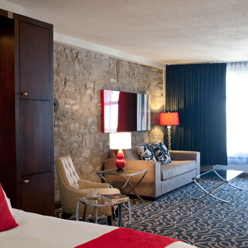 Bedroom City Modern Suite property red living room cottage