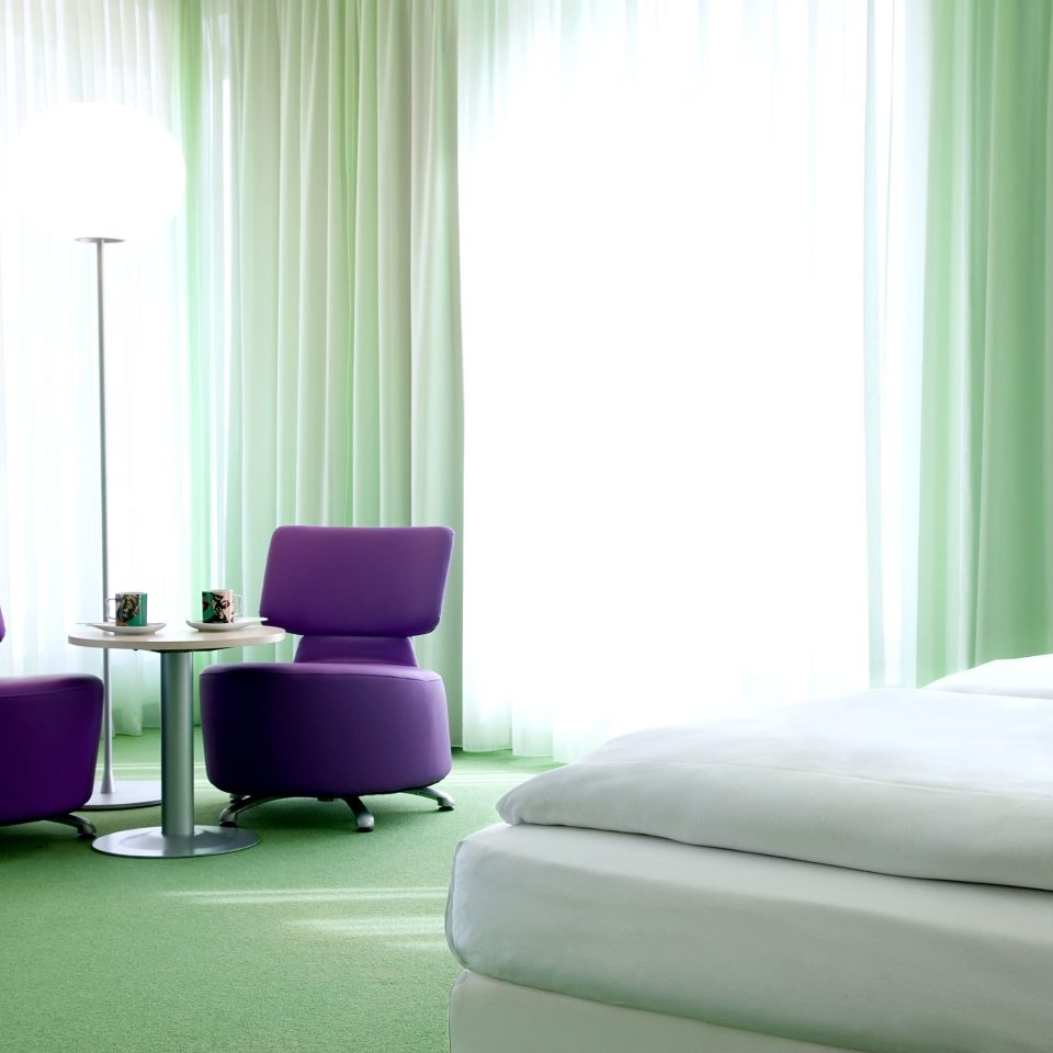 Bedroom City Modern sofa curtain green living room Suite