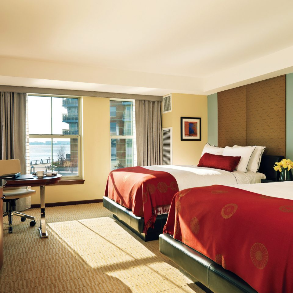 Bedroom City Scenic views sofa property red Suite living room condominium Resort flat