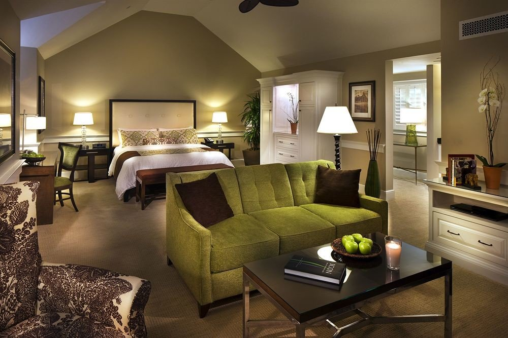 Bedroom Classic Country Lounge Suite sofa property living room home green condominium Villa cottage nice mansion flat Modern