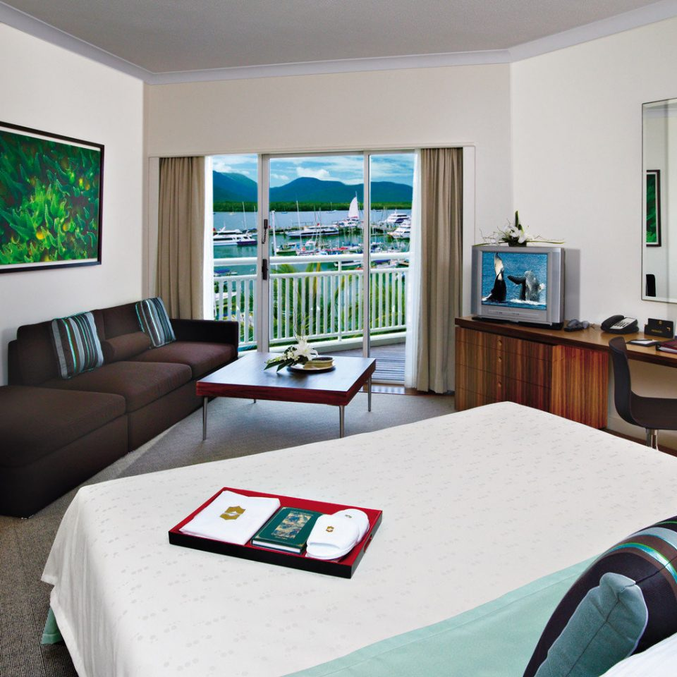 Bedroom Classic Luxury Scenic views Waterfront property living room home Suite condominium cottage flat Modern