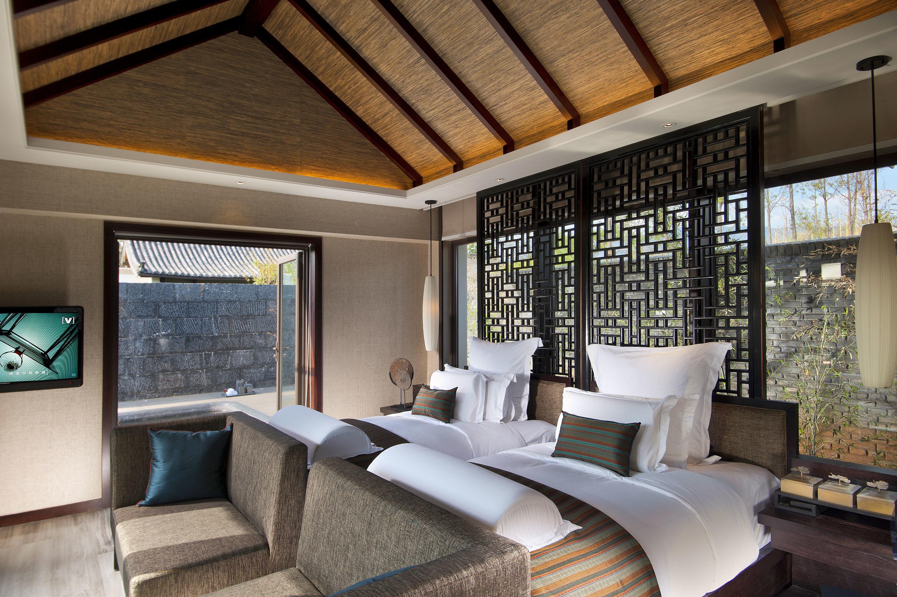 Bedroom Classic Resort sofa property living room condominium home house cottage Suite Villa loft mansion Modern