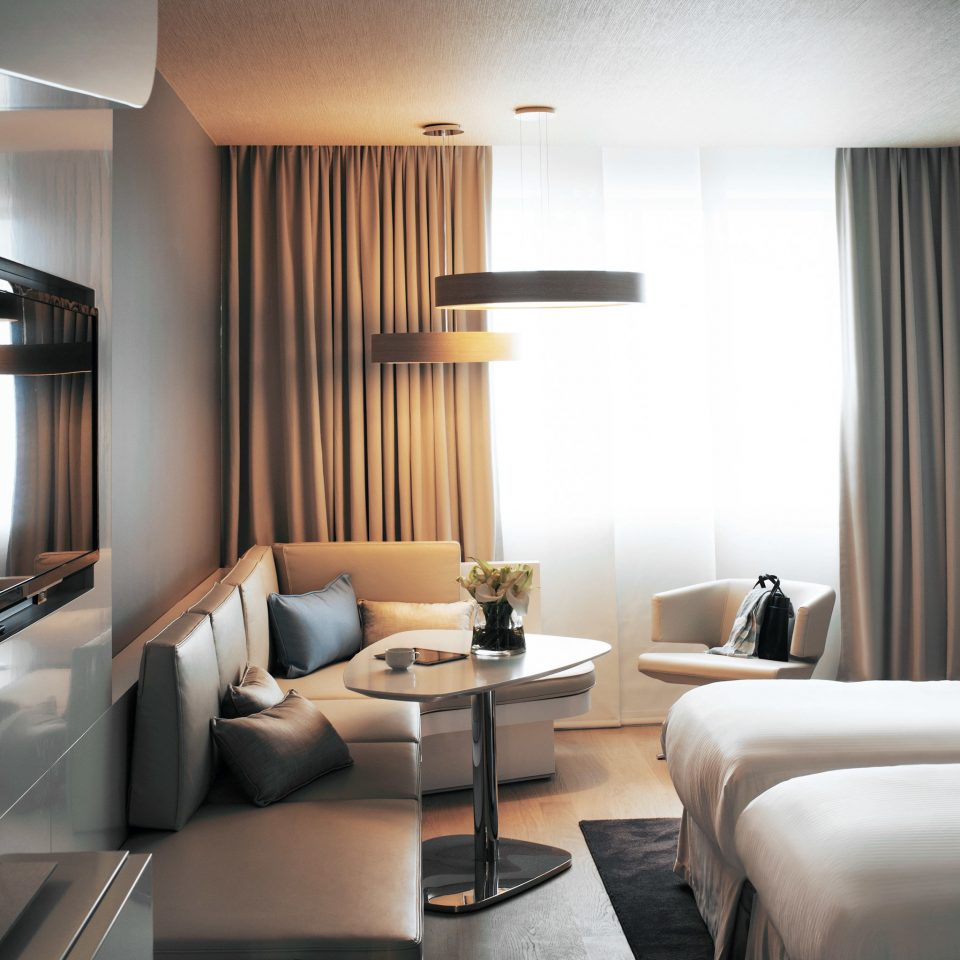 Bedroom Classic Resort property curtain condominium Suite living room lighting Modern flat