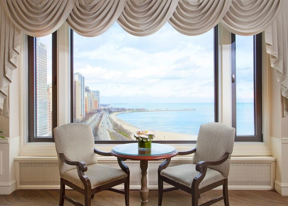 Bedroom Classic Ocean Scenic views chair property living room curtain window treatment home textile nice
