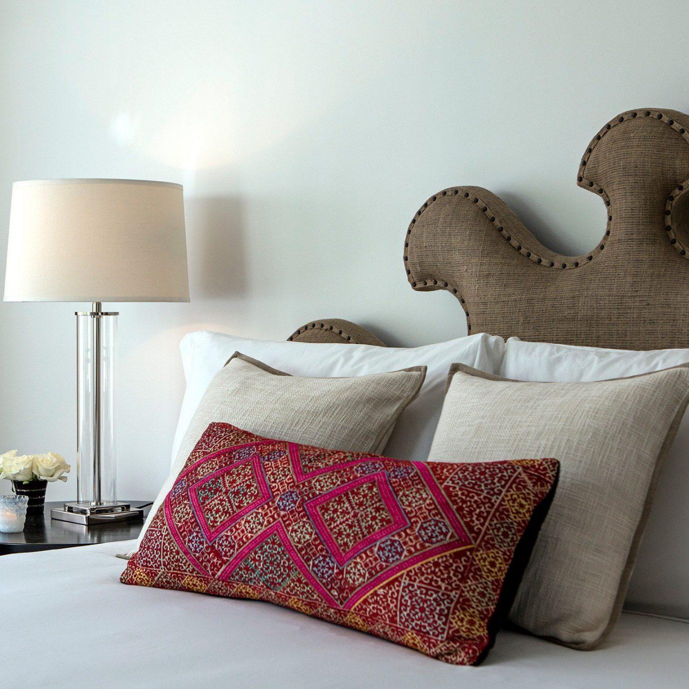 Bedroom Classic Resort sofa bed sheet textile duvet cover pillow material lamp