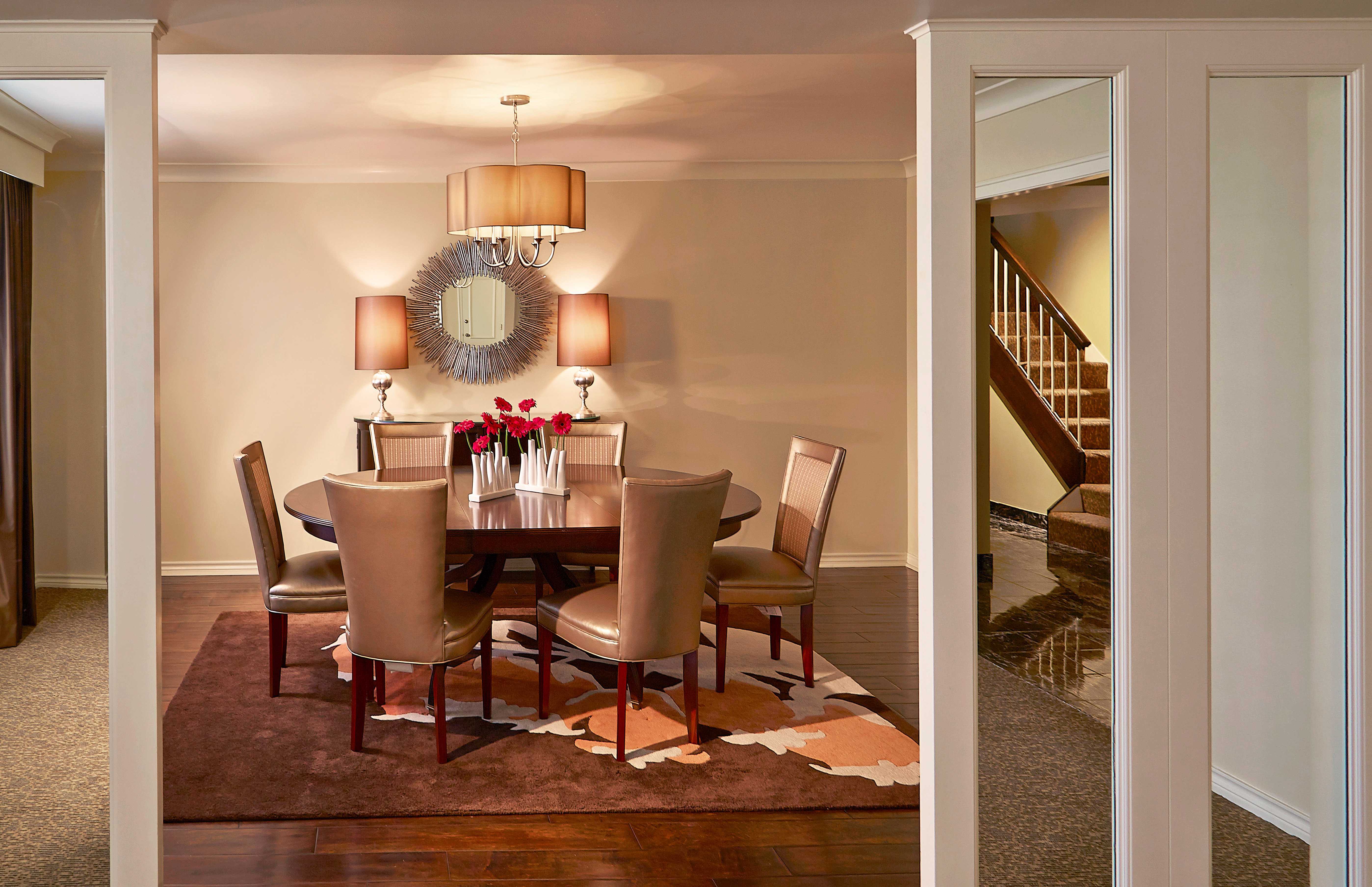 Classic Resort chair living room home cabinetry hardwood Bedroom