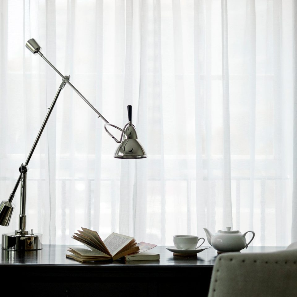 Bedroom Classic Resort curtain lighting living room window treatment wallpaper decor lamp set
