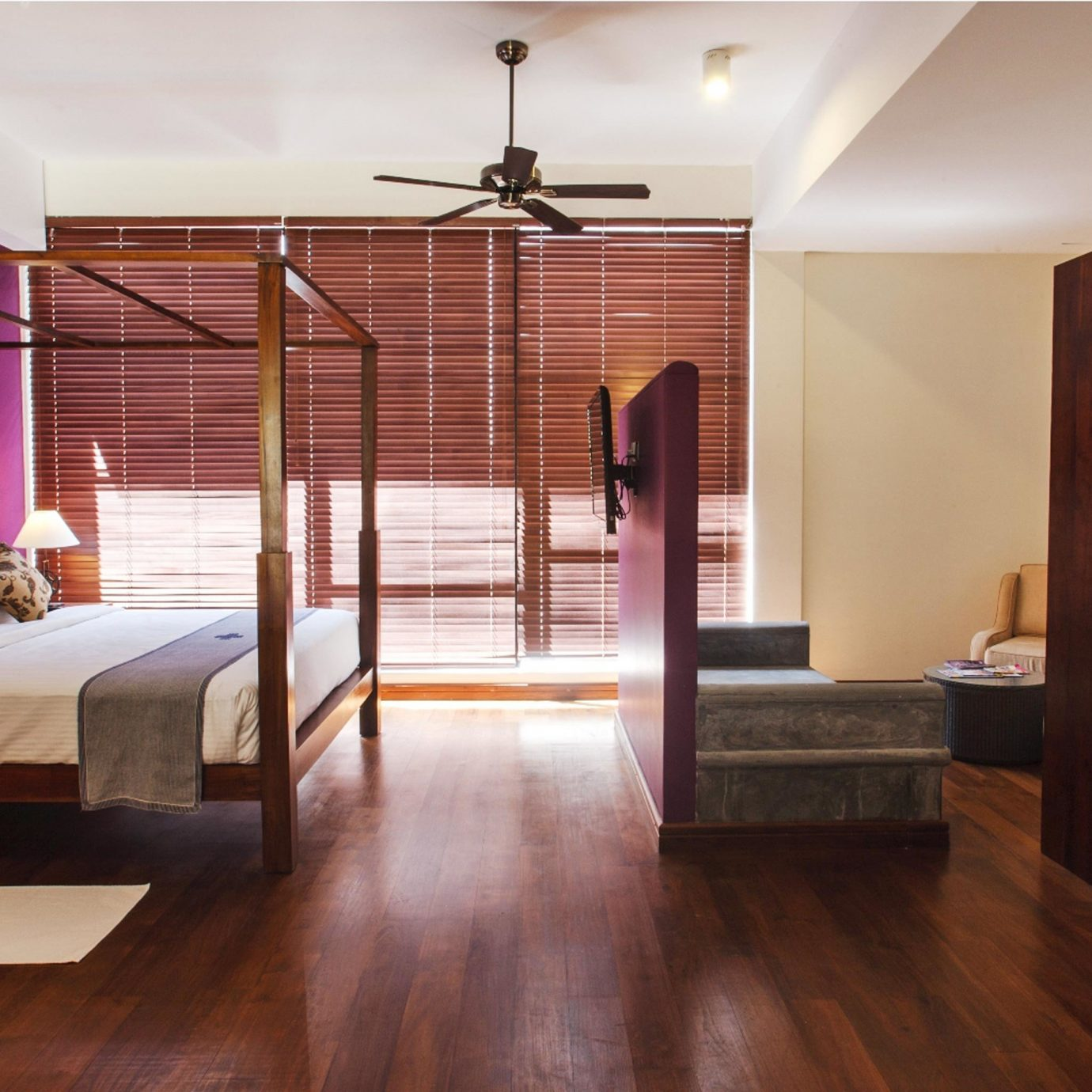 Bedroom Classic Suite property living room hardwood wood flooring home flooring laminate flooring loft