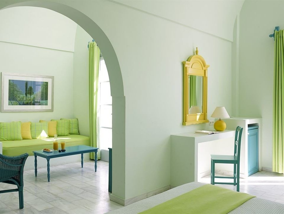 color property green living room home flooring cottage Bedroom
