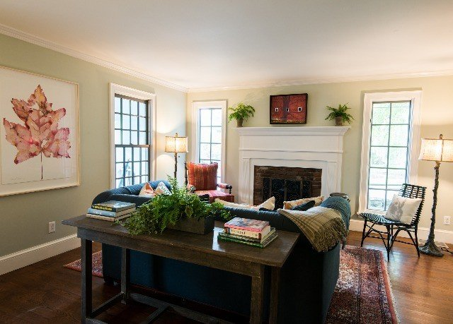 property living room home house hardwood cottage farmhouse Bedroom condominium