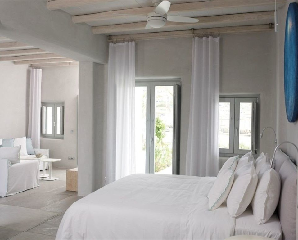 property Bedroom home living room white cottage curtain