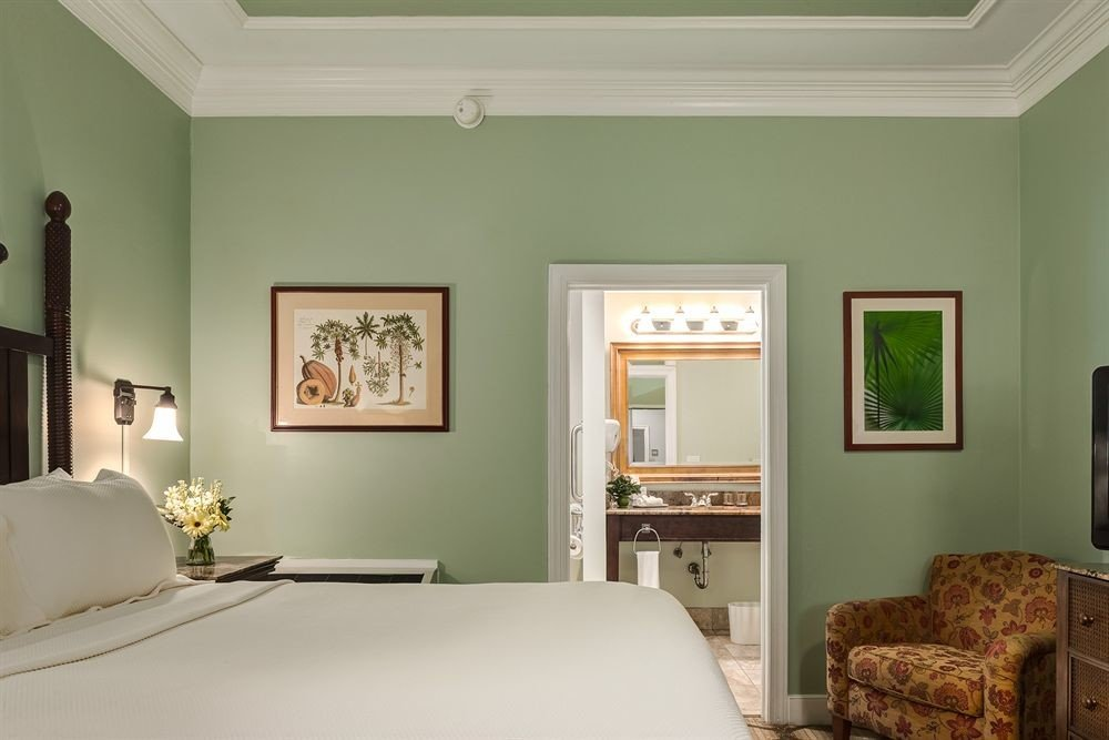 living room property Bedroom home green cottage farmhouse