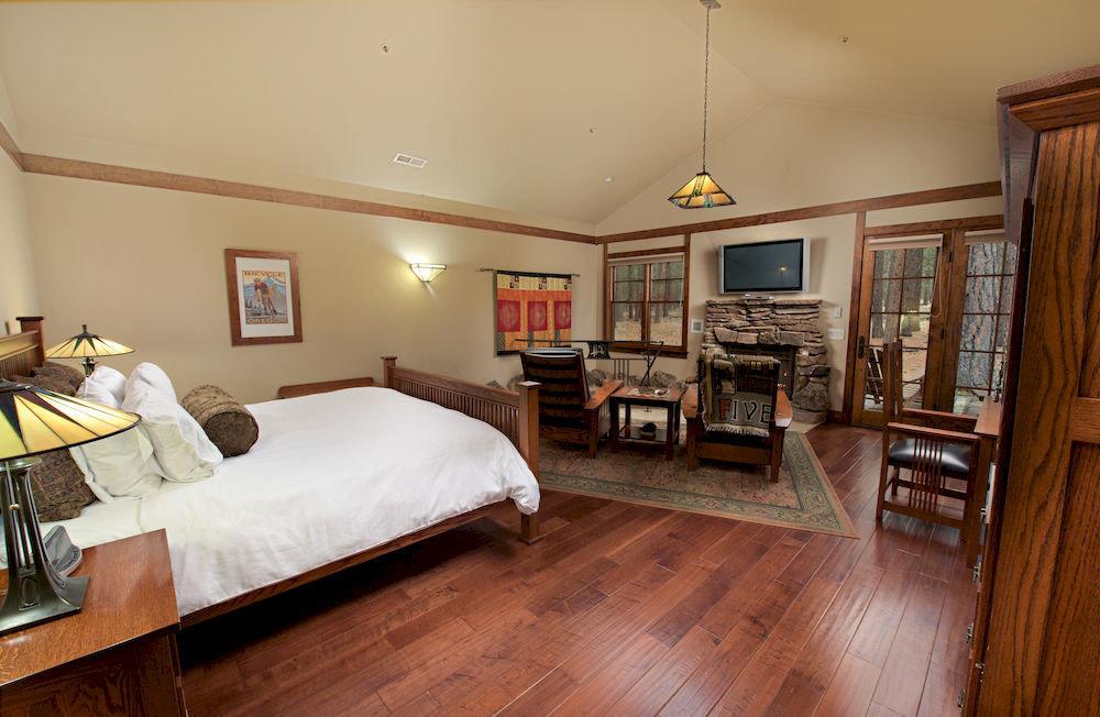 property home hardwood cottage Bedroom living room wood flooring farmhouse