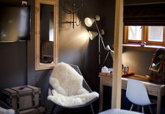 home living room cottage lighting Bedroom