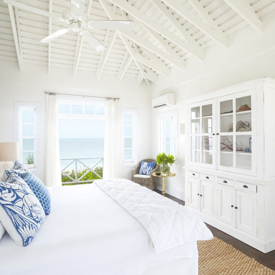 Bedroom at Kamalame Cay in the Bahamas