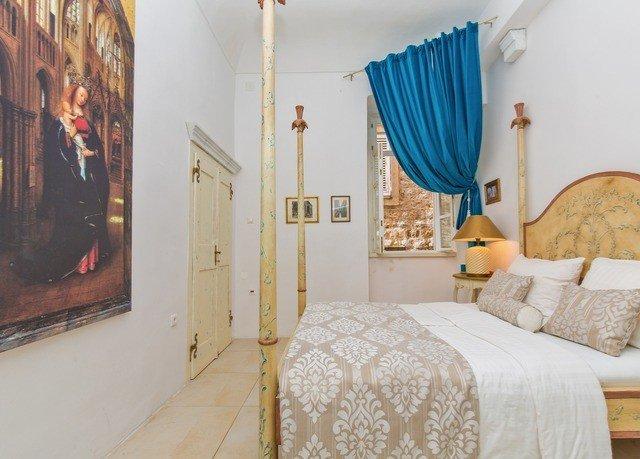 property Bedroom scene cottage home textile