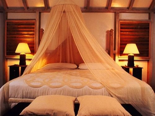 Bedroom mosquito net cottage lamp