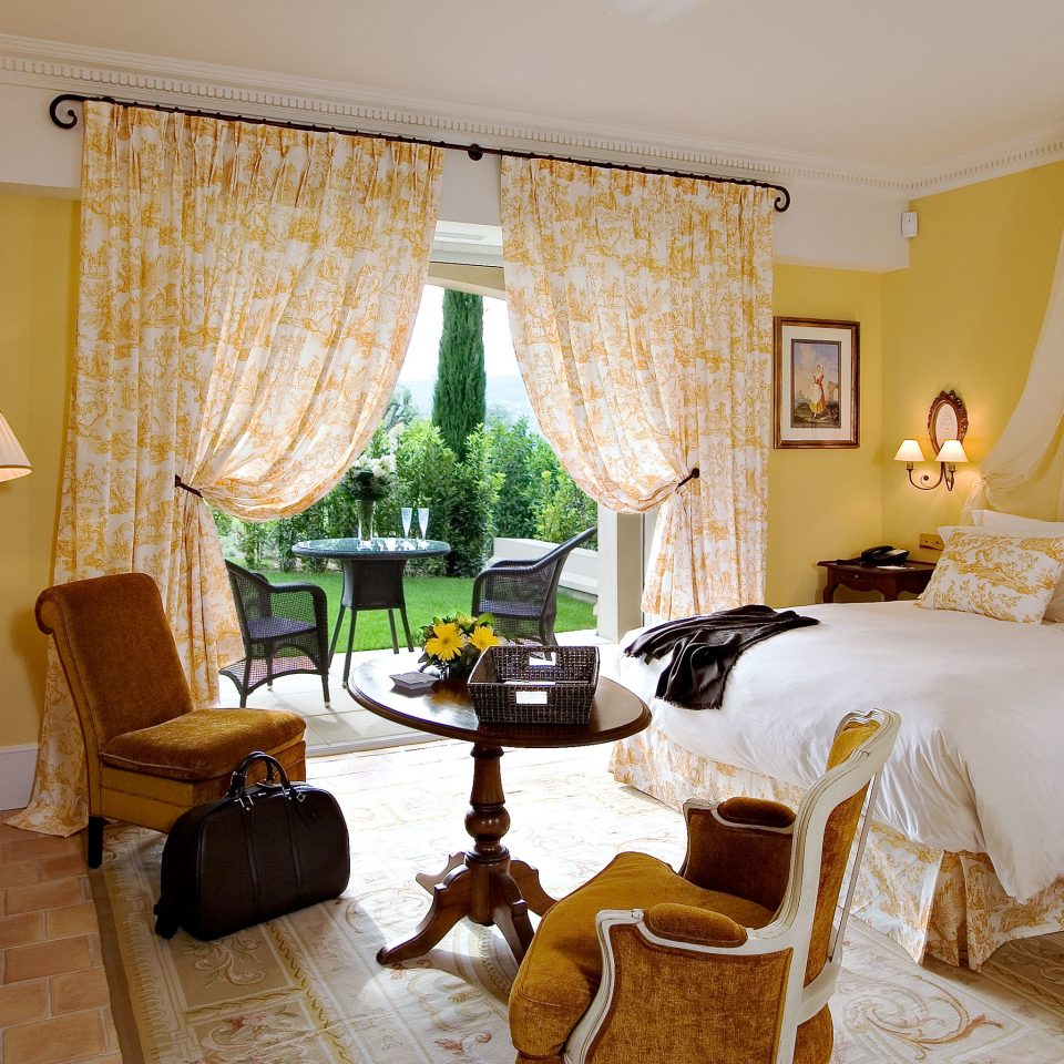 Bedroom Country Cultural Luxury Romance Romantic property cottage home Suite living room containing