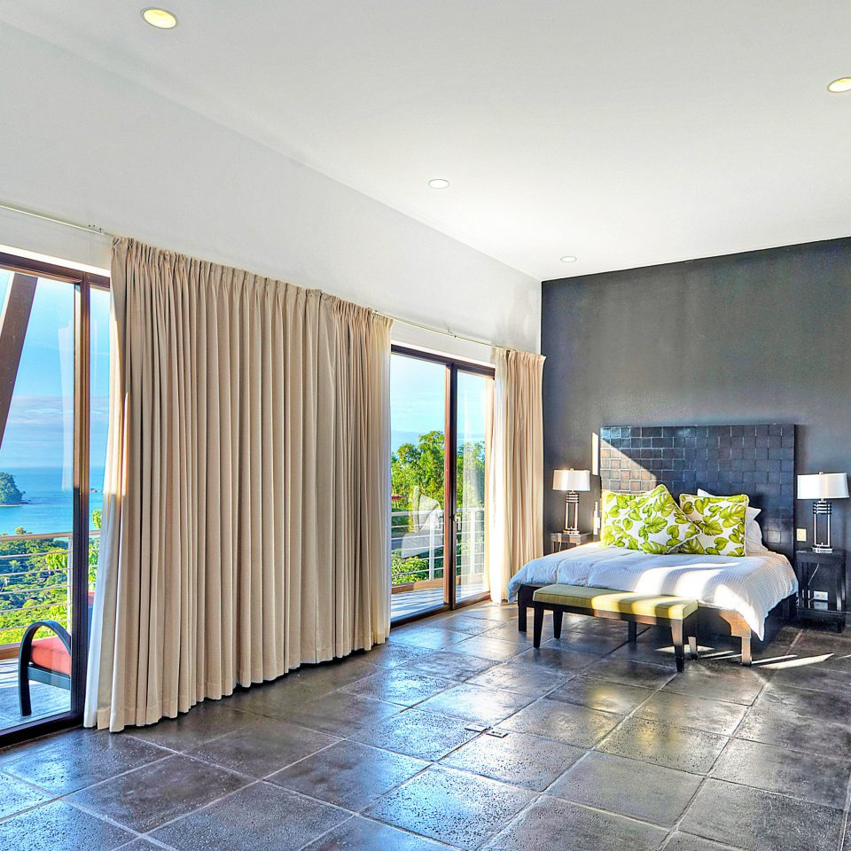 Bedroom Country Eco Jungle Modern Resort Romance Scenic views Suite Waterfront property house condominium home living room Villa professional