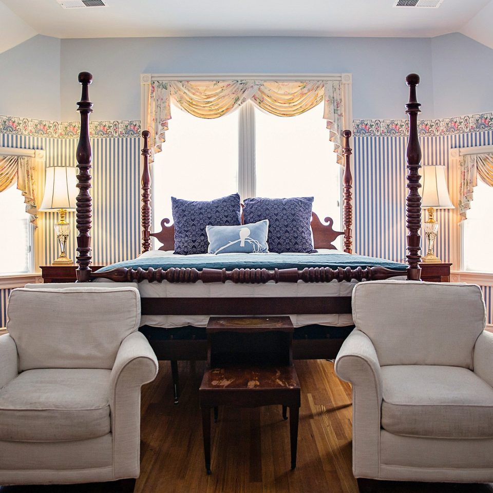 Bedroom Country Inn Trip Ideas living room property home Suite mansion curtain window treatment