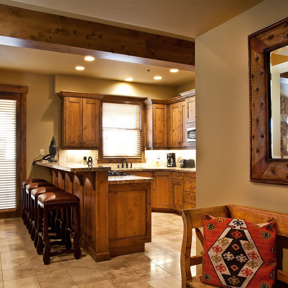 Country Kitchen Resort Rustic property home cabinetry house hardwood cottage wooden living room Suite Bedroom