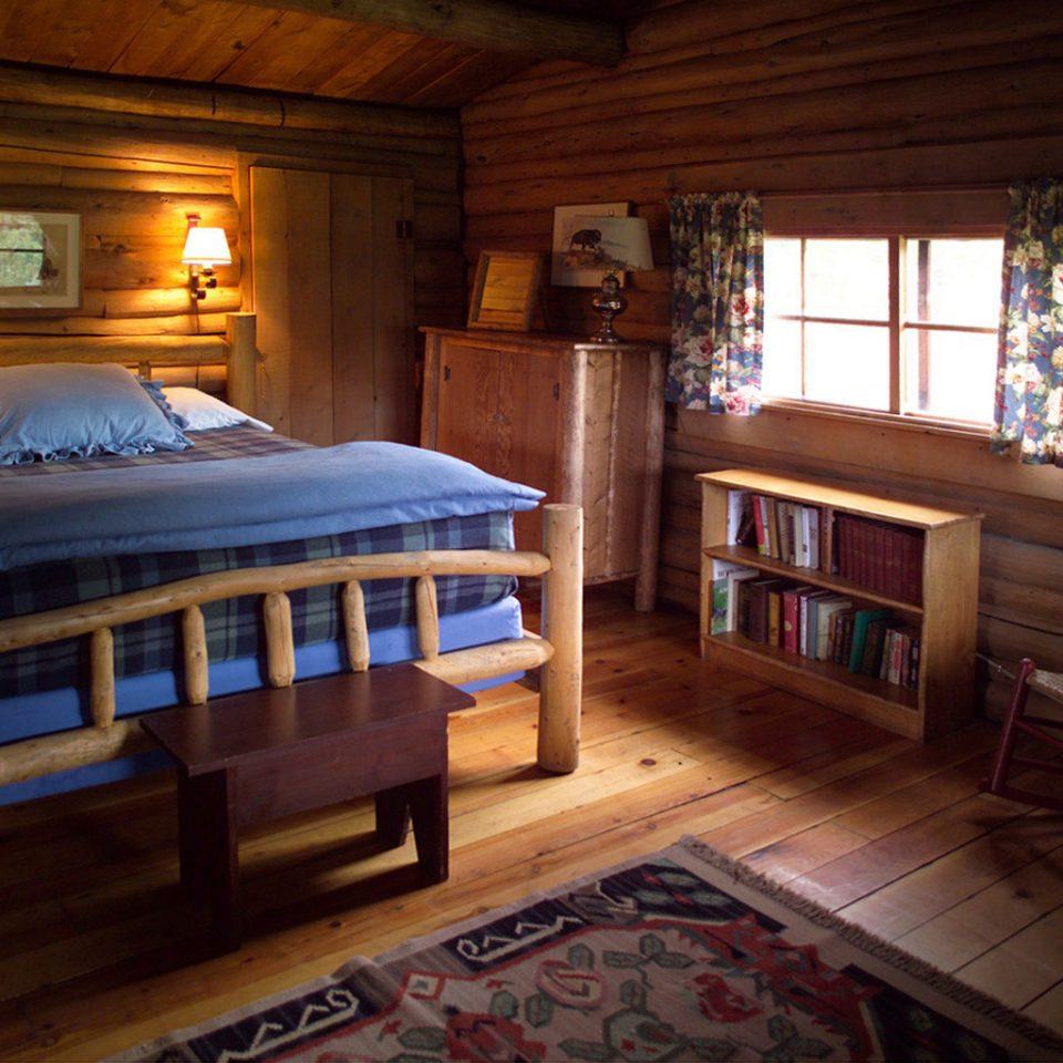 Bedroom Country Lodge Ranch Rustic Suite property log cabin house building cottage home farmhouse recreation room mansion
