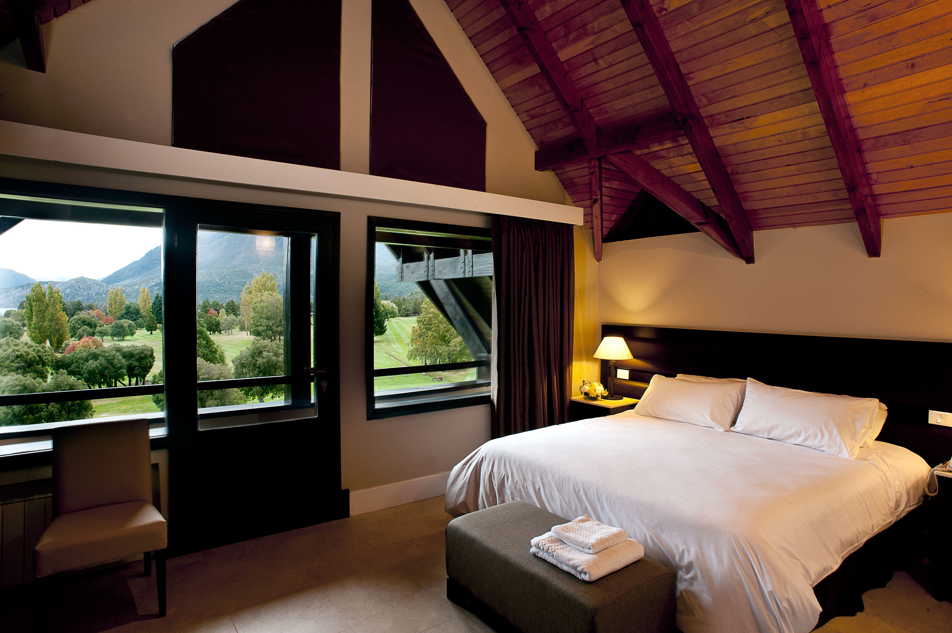 Bedroom Country Lodge Rustic property house Resort home cottage Villa Suite