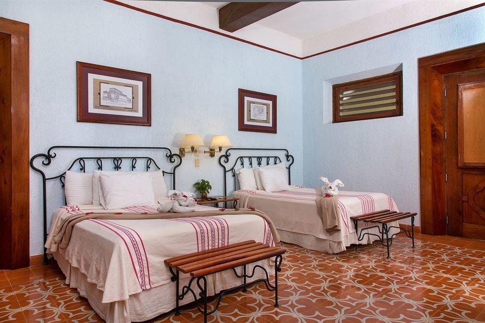 Bedroom Country Modern Rustic Suite property cottage hardwood bed sheet living room