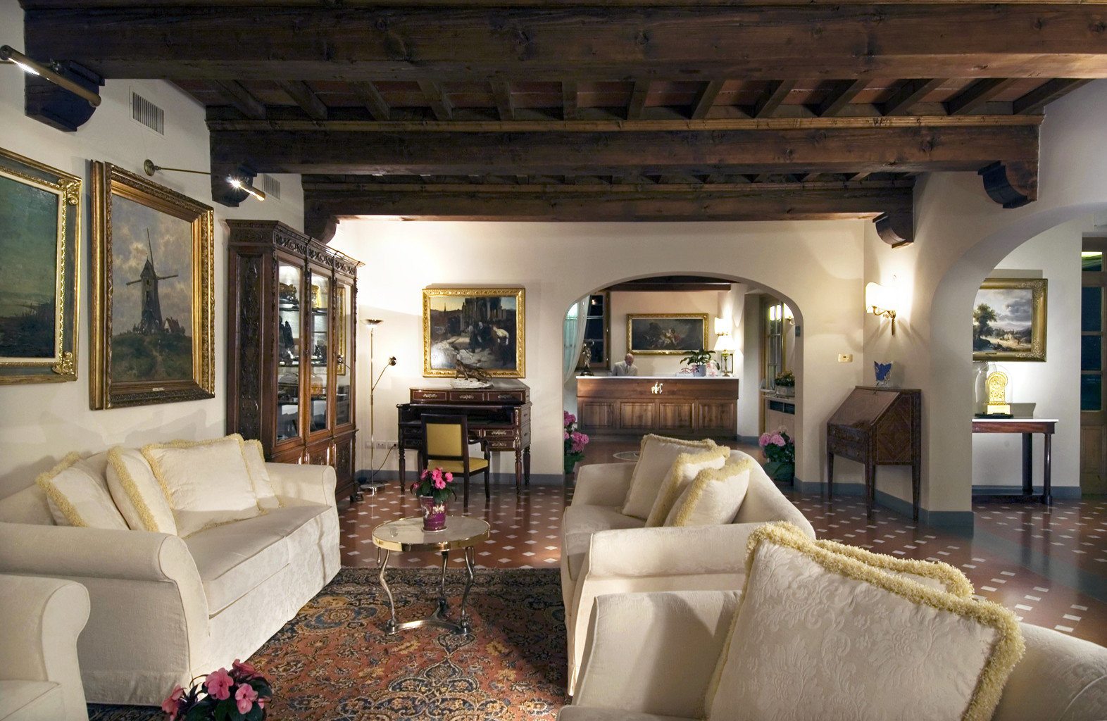 Bedroom Country Rustic sofa living room property home house Villa mansion cottage recreation room Suite farmhouse