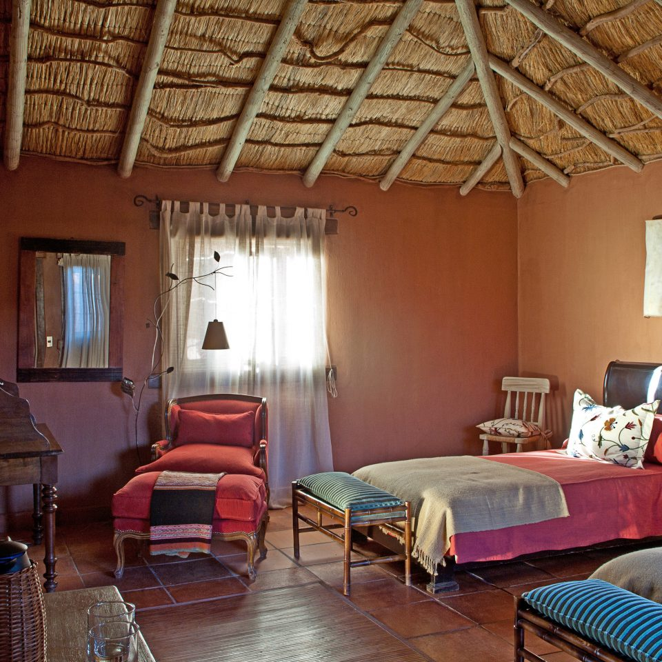 Bedroom Cultural Desert Rustic property chair building house cottage farmhouse home Resort Villa living room