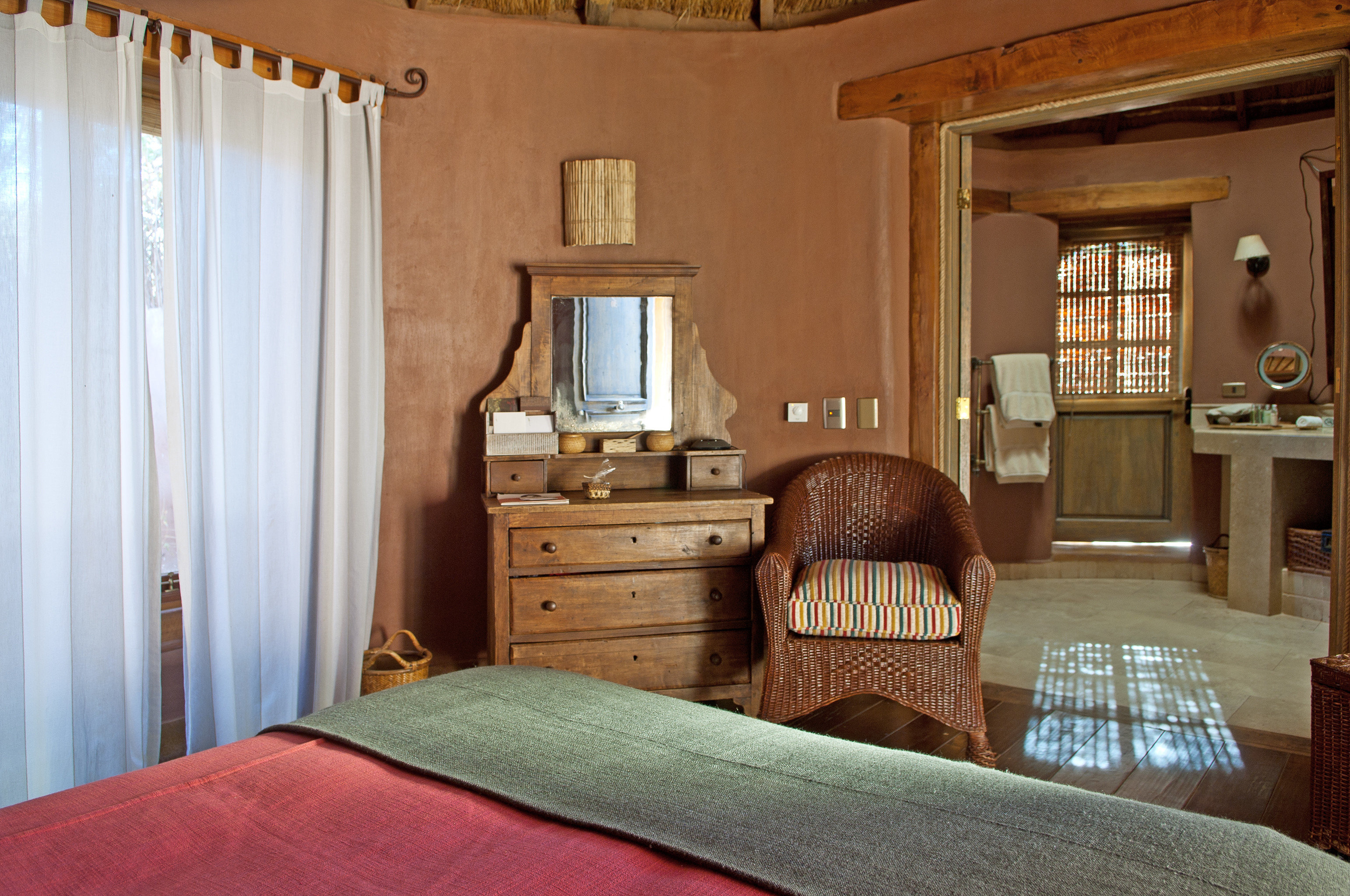 Bedroom Cultural Desert Romance Rustic property home cottage hardwood Suite farmhouse