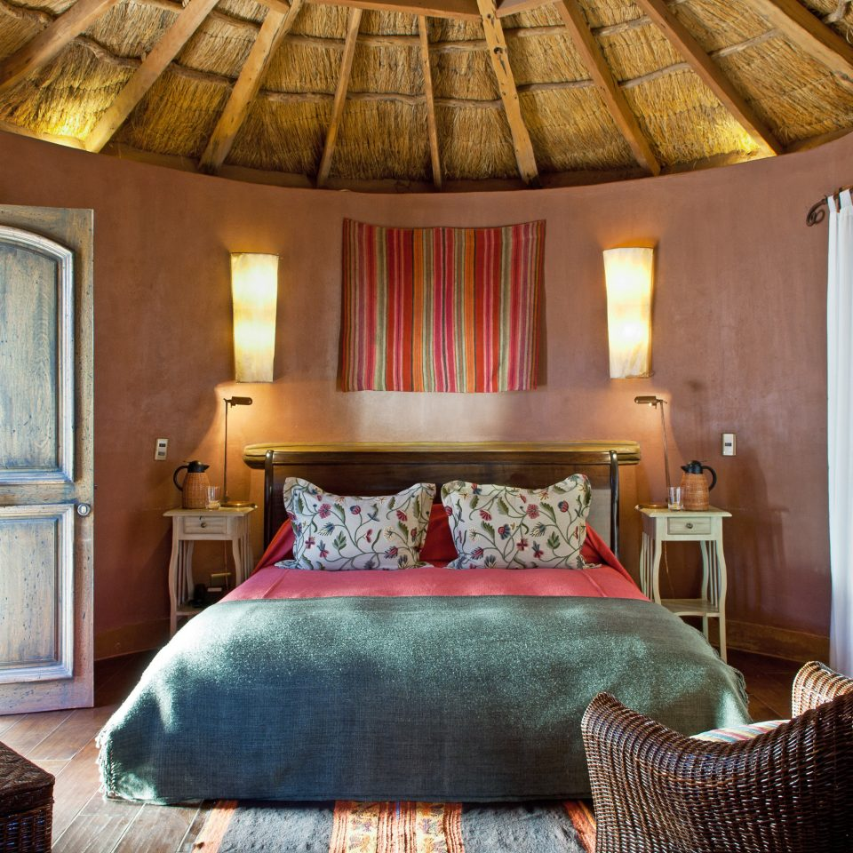 Bedroom Cultural Desert Romance Rustic property chair cottage green Suite home farmhouse pillow Villa