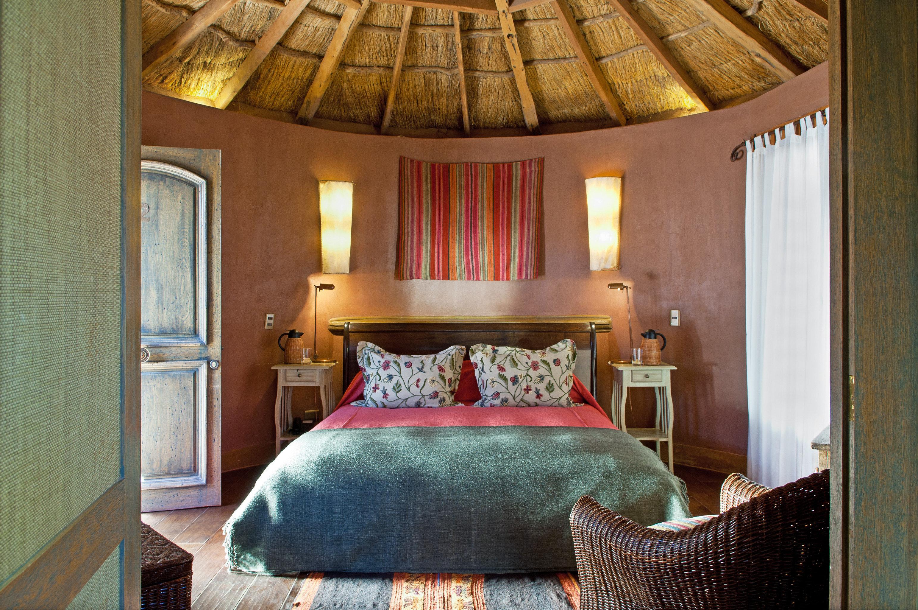 Bedroom Cultural Desert Romance Rustic property chair cottage green Suite home farmhouse pillow Villa