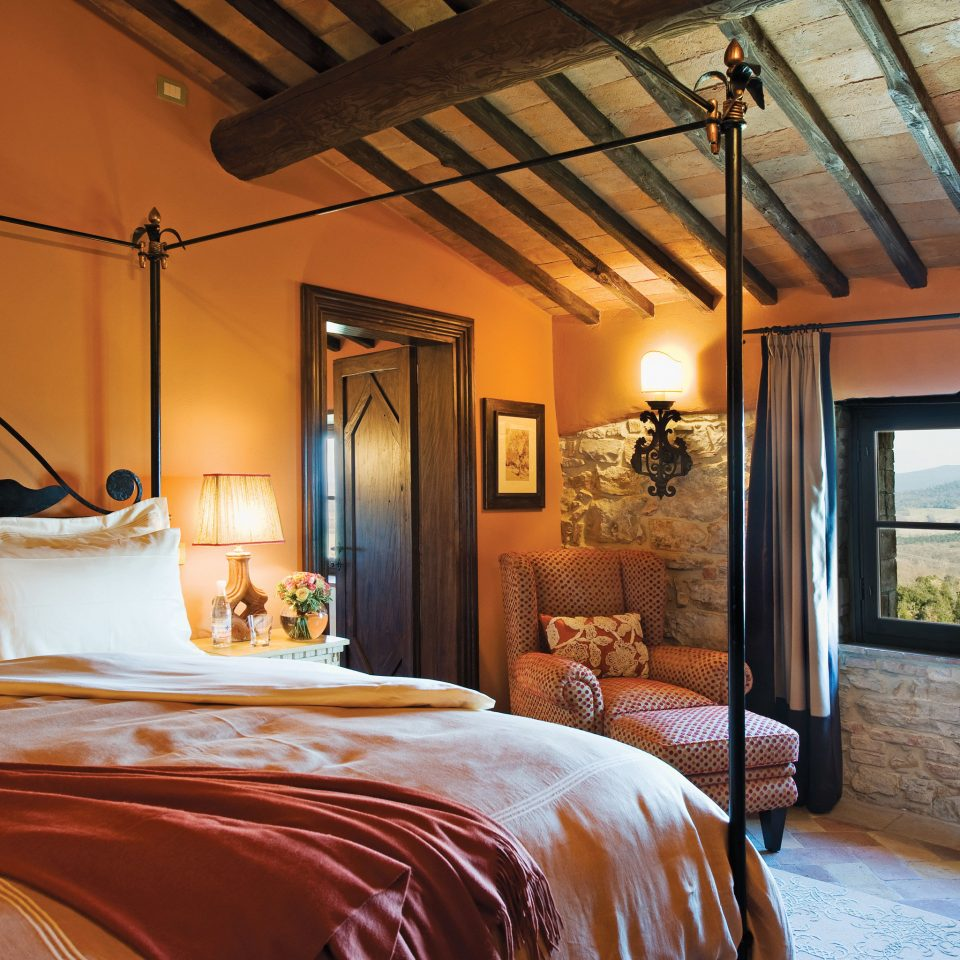 Bedroom Cultural Romance Rustic property home cottage farmhouse Suite Villa living room mansion orange